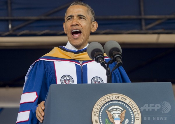 「ウィー・キャン」思い出して=「黒人大学」卒業式で贈る言葉-米大統領