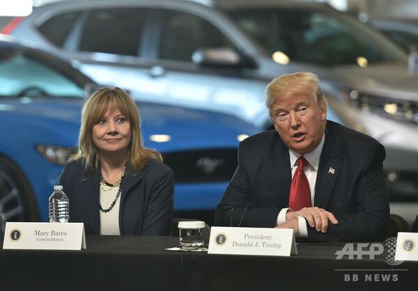 トランプ氏、自動車関税を「検討」 GMのリストラ計画で