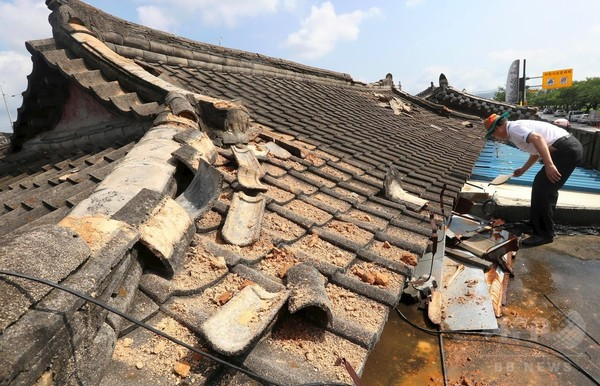 韓国南部でM5.8の地震、「観測史上最大」と同国気象庁