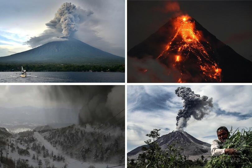 国際ニュース:AFPBB News相次ぐ噴火に地震…環太平洋火山帯は活発化しているのか