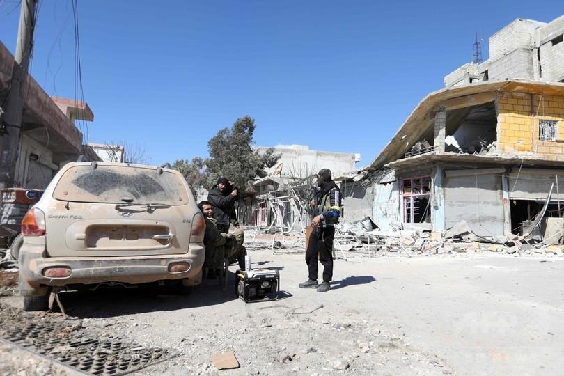 トルコ軍作戦、アフリン中心部に「今すぐにでも」突入可能 大統領