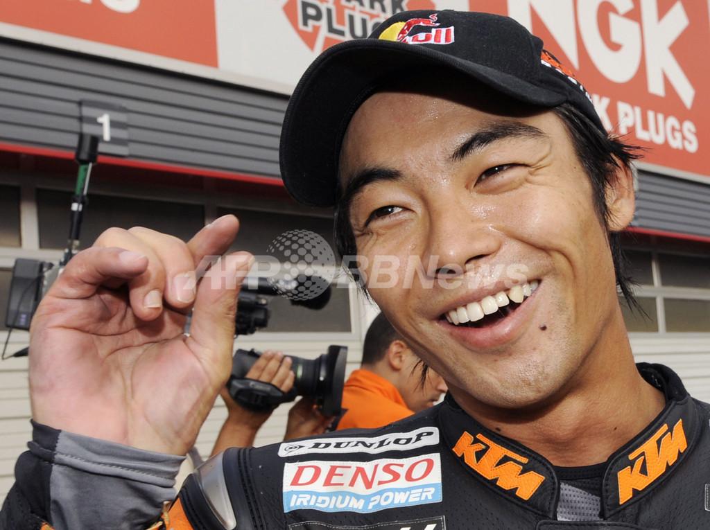 青山 日本GP・250ccクラス予選で2番手