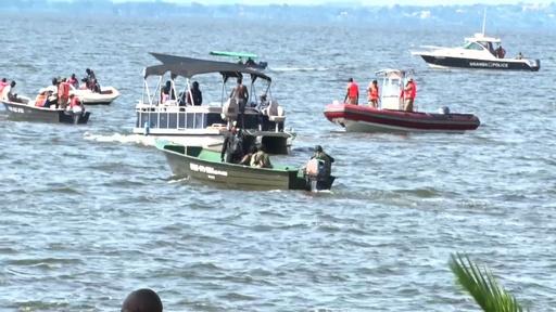 動画:ビクトリア湖で船が沈没、パーティー客ら30人死亡60人超不明 ウガンダ