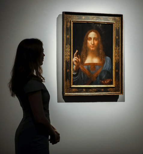 所在不明の史上最高額絵画、サウジ皇太子のヨットに?