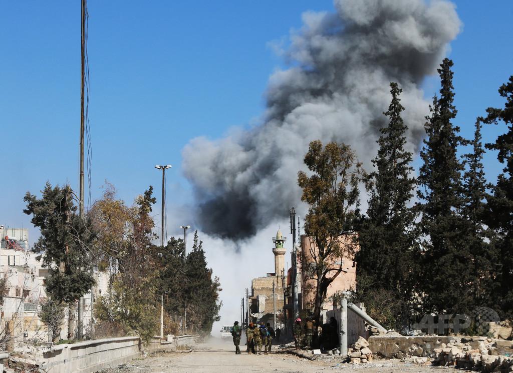 シリア反体制派、ISの拠点アルバブの制圧を発表
