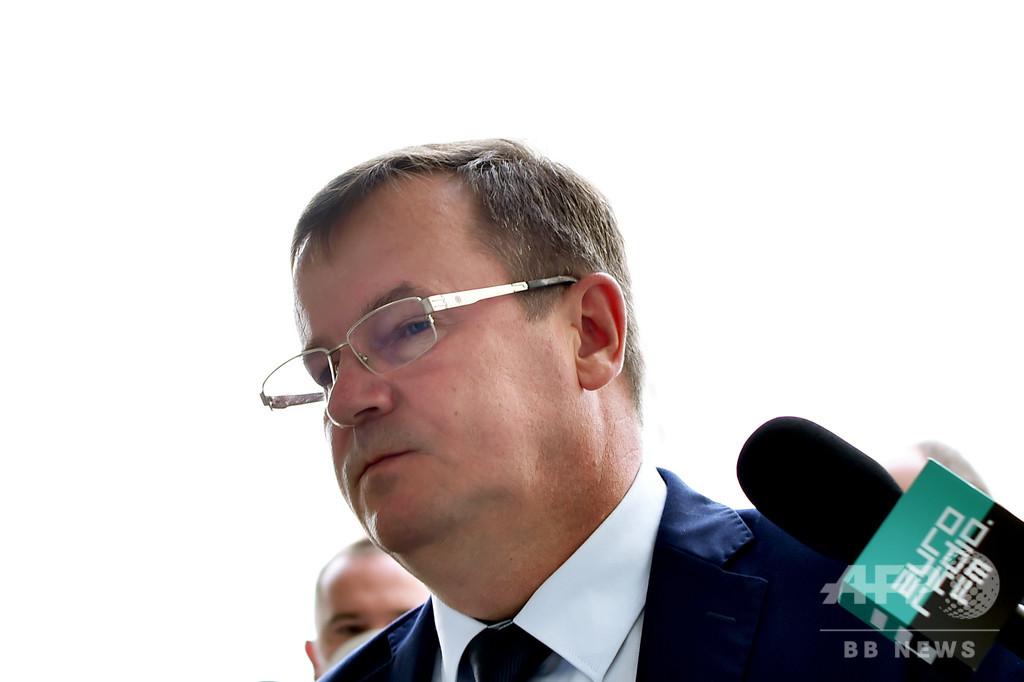 拘束のロシア人傭兵は「テロを画策」 ベラルーシ当局 ロ政府は否定