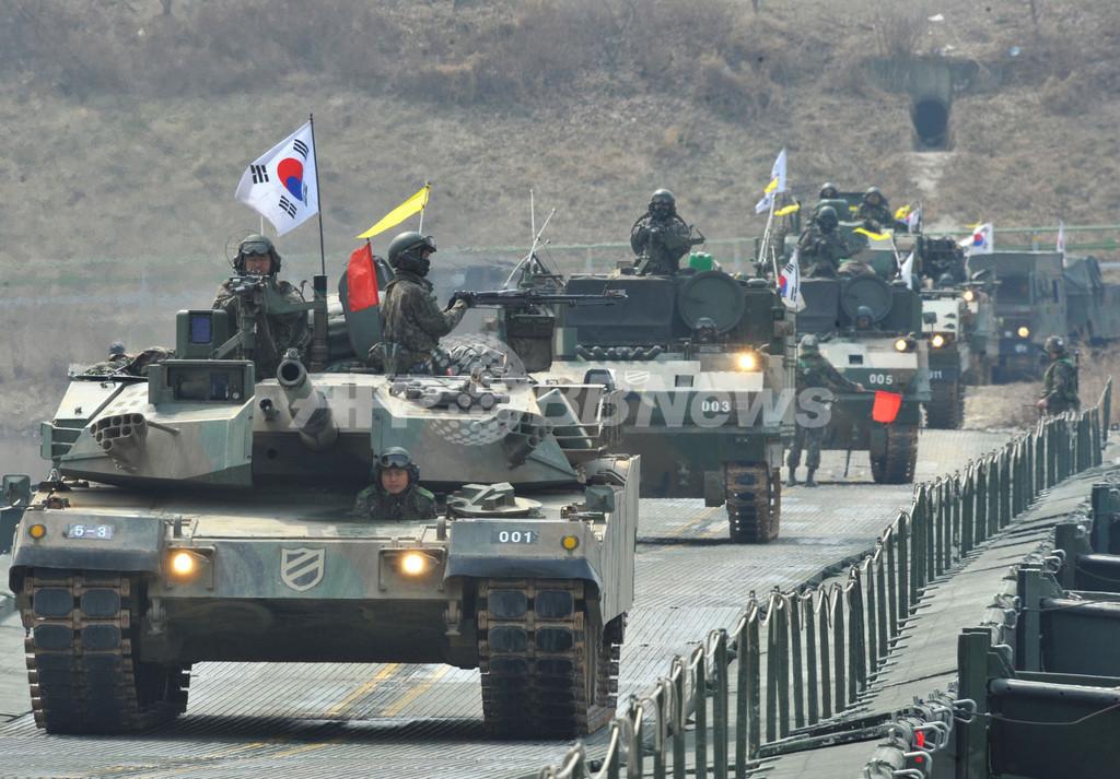 「韓国が北朝鮮に攻撃されたら支援」、米国民55%が支持