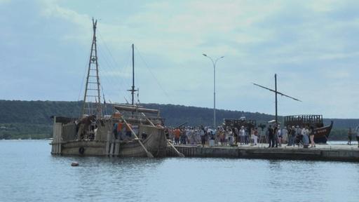 動画:古代船で黒海からエジプトへ、数千年前の航海を再現