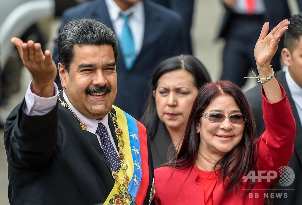 トランプ氏、ベネズエラ政権「すぐにも打倒できる」 大統領夫人らには制裁