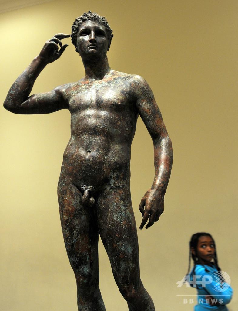 伊裁判所、米美術館にブロンズ像返還命令 帰属めぐり論争