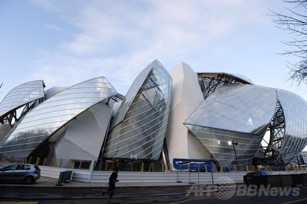 「ルイ・ヴィトン ファンデーション」美術館、仏パリに完成