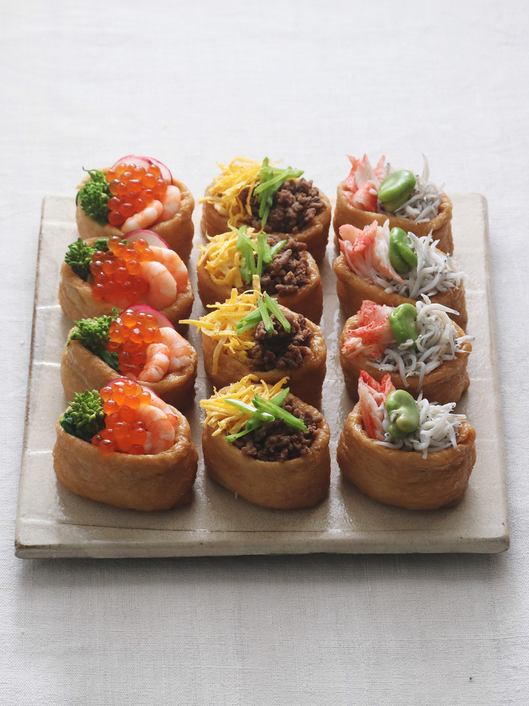 <Carte de Cuisine>春の具沢山いなり寿司