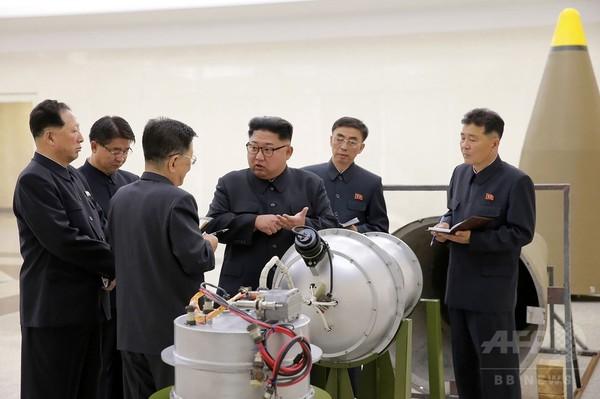 北朝鮮は弾頭サイズの核兵器保持、韓国政府見解