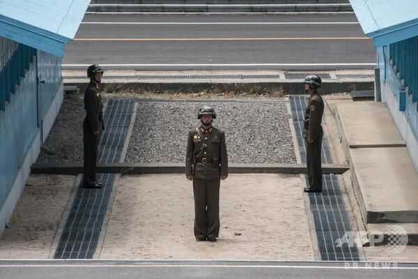 韓国と北朝鮮、板門店JSA非武装化へ 撤収作業順調