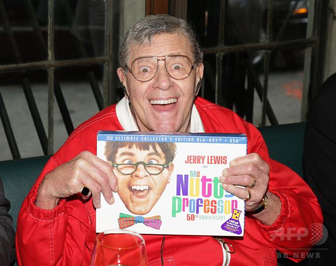米喜劇俳優ジェリー・ルイスさん死去、「底抜け」シリーズで人気