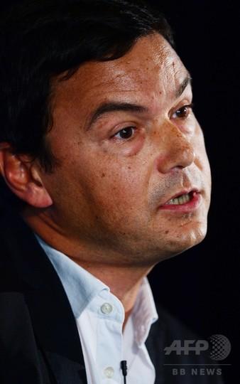 仏経済学者ピケティ氏、最高勲章候補を辞退 現政権批判で