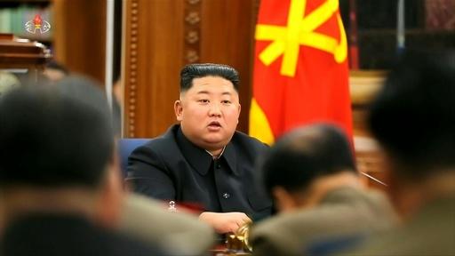 動画:北朝鮮の金委員長、「全般的武力強化策」を討議 対米交渉期限迫る中