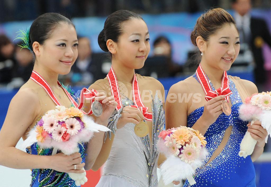 浅田が優勝、鈴木は2位 NHK杯