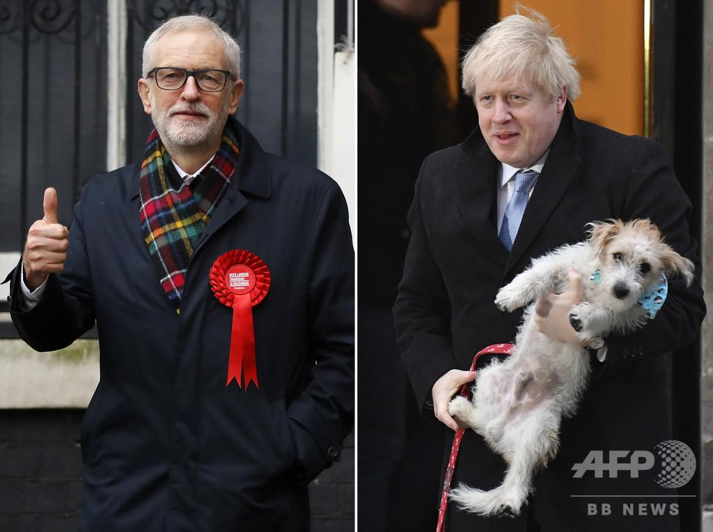 英総選挙で歴史的大敗の労働党、コービン氏「次の選挙は率いない」