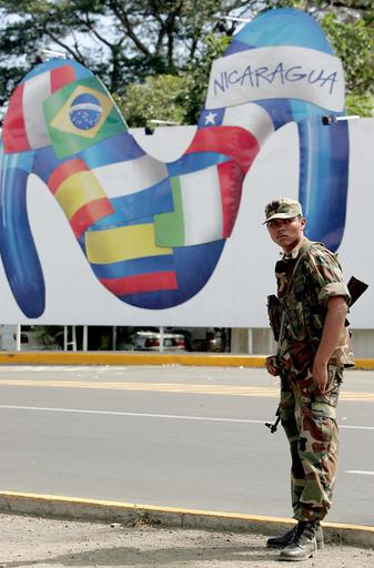 オルテガ次期大統領の就任式を控え、首都は厳戒態勢に - ニカラグア