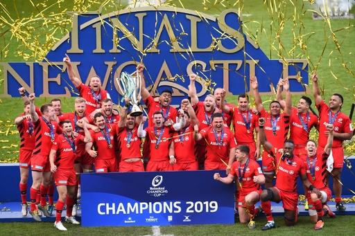 サラセンズが欧州チャンピオンズカップ制覇、3回目の王者に