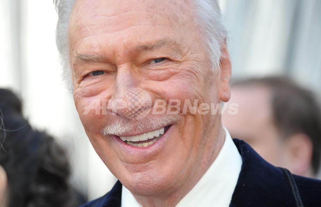 82歳で初受賞のクリストファー・プラマー、最高齢記録も更新 アカデミー賞