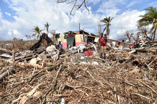 ハイチ、ハリケーン被害総額2000億円超 GDPの5分の1