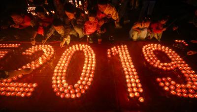 【特集】AFPのベストショット:12月29日~1月4日