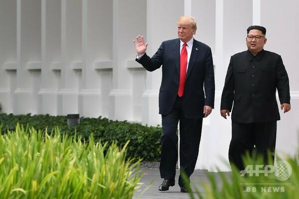 米朝首脳会談の「開催国を選定」 とトランプ氏