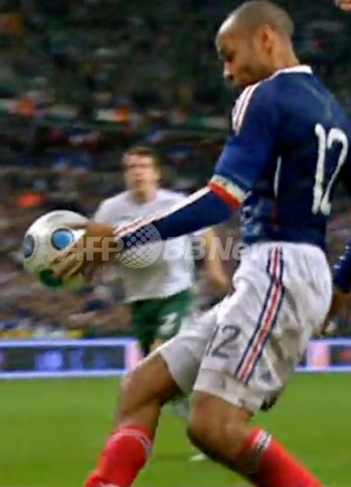 FIFA、アイルランドの再試合要求を却下 「神の手」抗議実らず