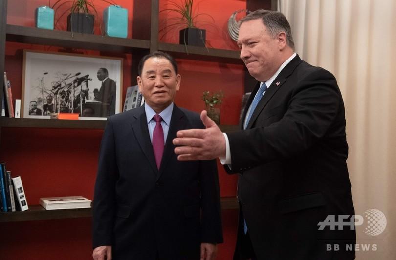 トランプ氏、訪米の北朝鮮高官と...