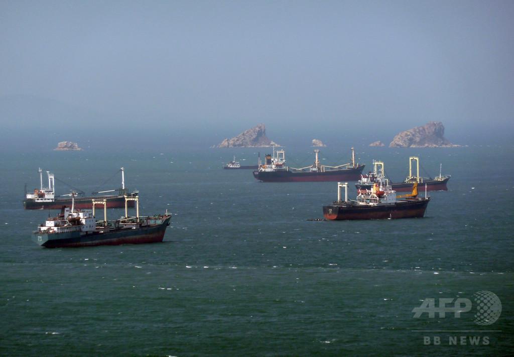 北朝鮮関連でパナマ船籍のタンカーも抑留 韓国報道