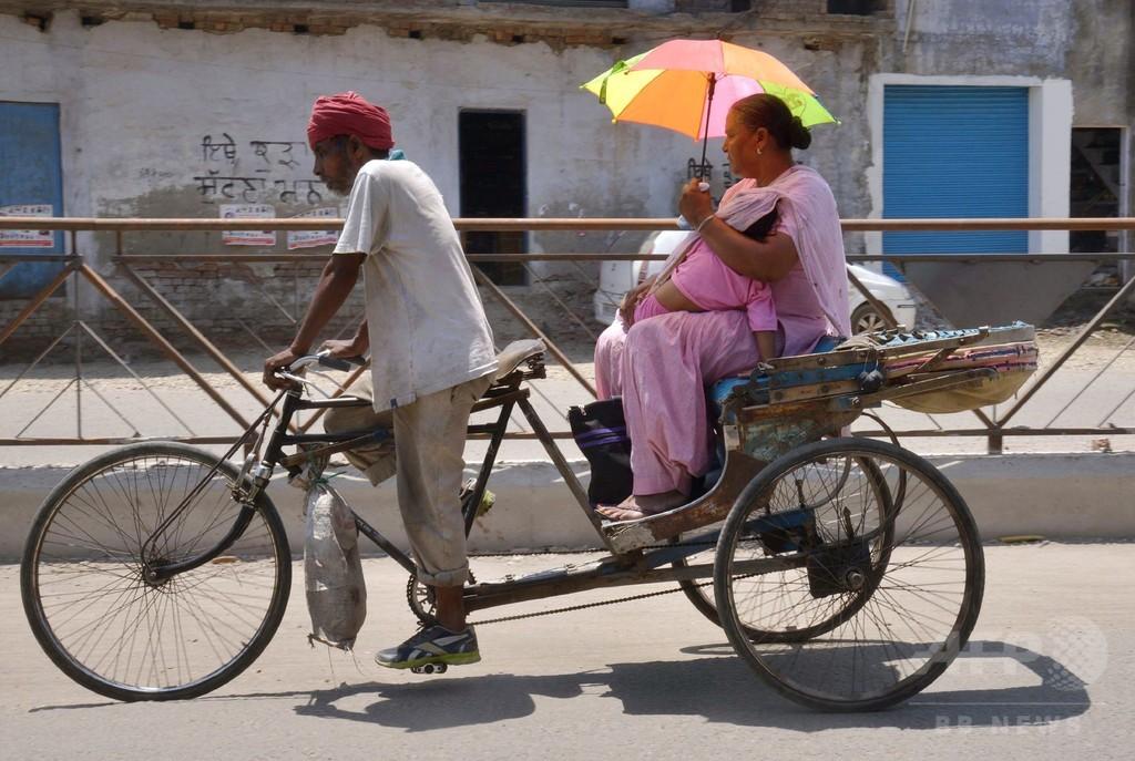 インド北部で気温51度を観測、国内新記録