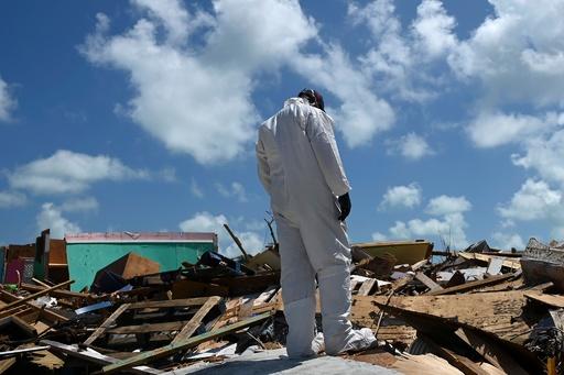 ハリケーン被災のバハマ、依然として1300人が行方不明者