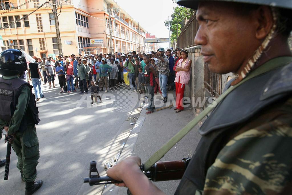 首都で反大統領デモが暴徒化、少なくとも34人死亡 マダガスカル