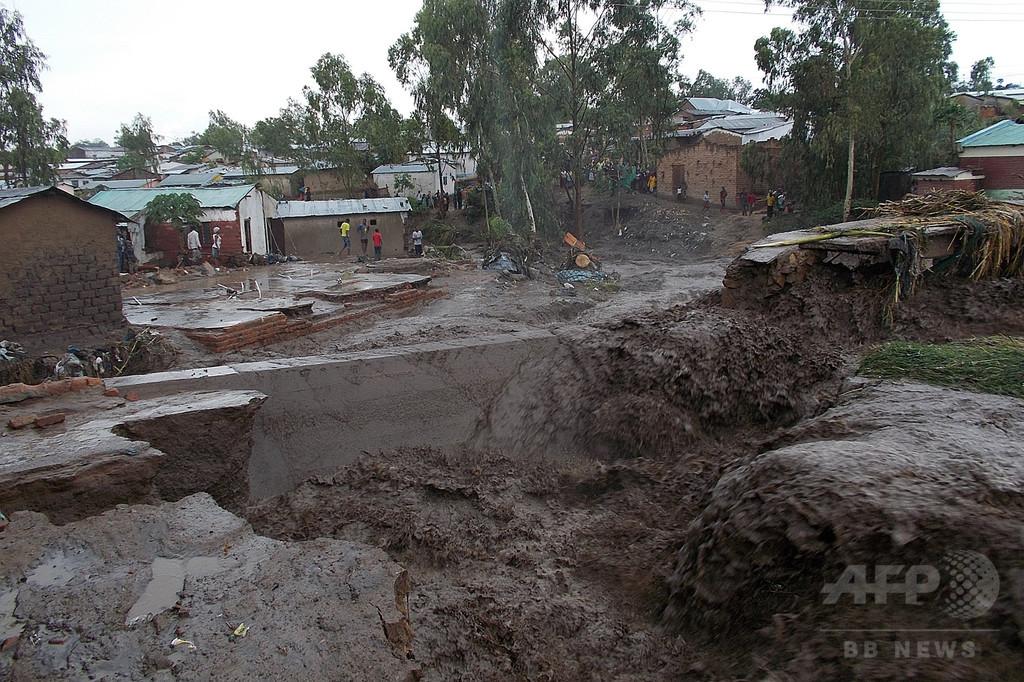 マラウイで洪水、死者176人 20万人が家失う