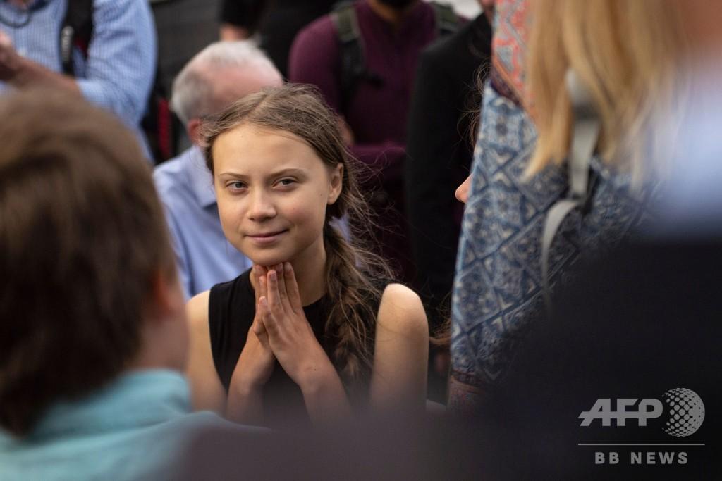 トゥンベリさんら若者にノーベル平和賞を 受賞者が主張