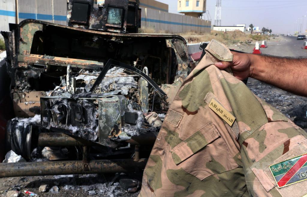 軍用車ハンビー2300台がISの手に、イラク首相