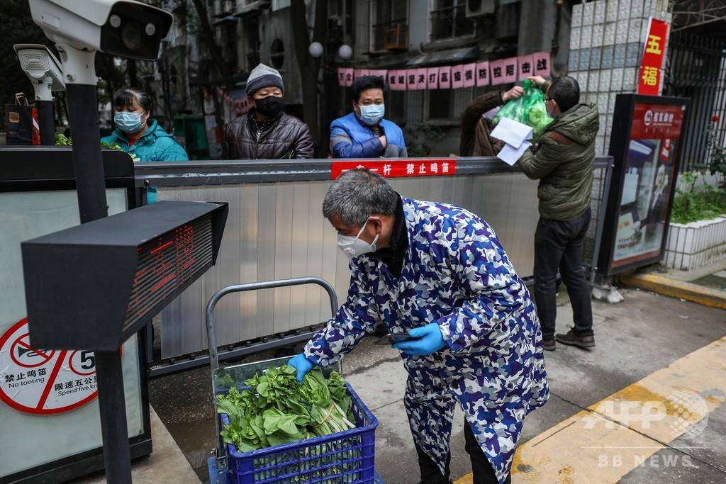 「全部うそだ」中国・武漢市民が怒りの叫び 政府高官の視察中に