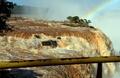 濁流にかかる虹、ブラジル・イグアスの滝