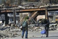 震災の死者、お年寄りが過半数 朝日新聞調査