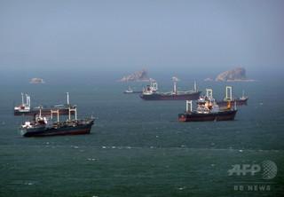 国連安保理による入港禁止、3隻が北船舶、1隻はパラオ船籍
