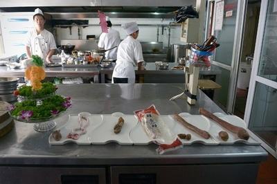 北京の絶倫料理、動物のペニス鍋