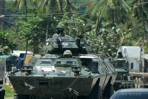 比ミンダナオで武装した数百人が軍部隊を襲撃、民間人5人不明 陽動作戦か