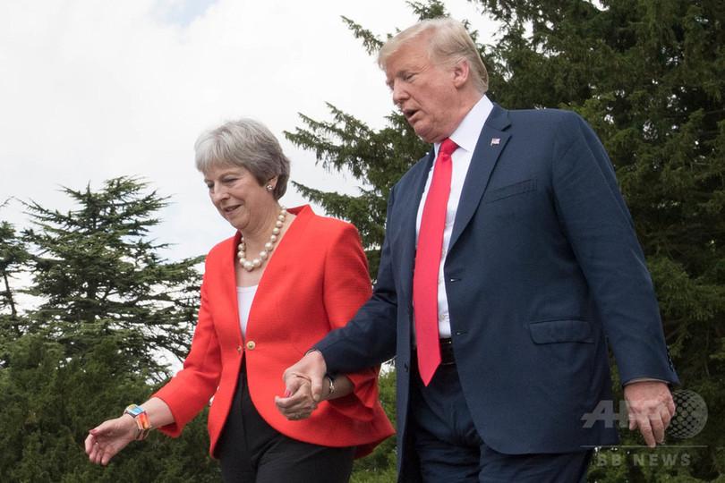 トランプ氏、ブレグジットで「EUを訴えろ」と提言 英首相が暴露
