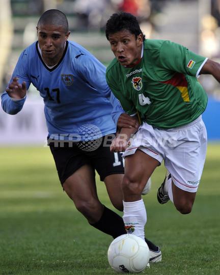ボリビア対ウルグアイは引き分け...