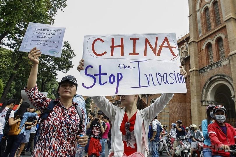 ベトナムで過去最大規模の反中デ...