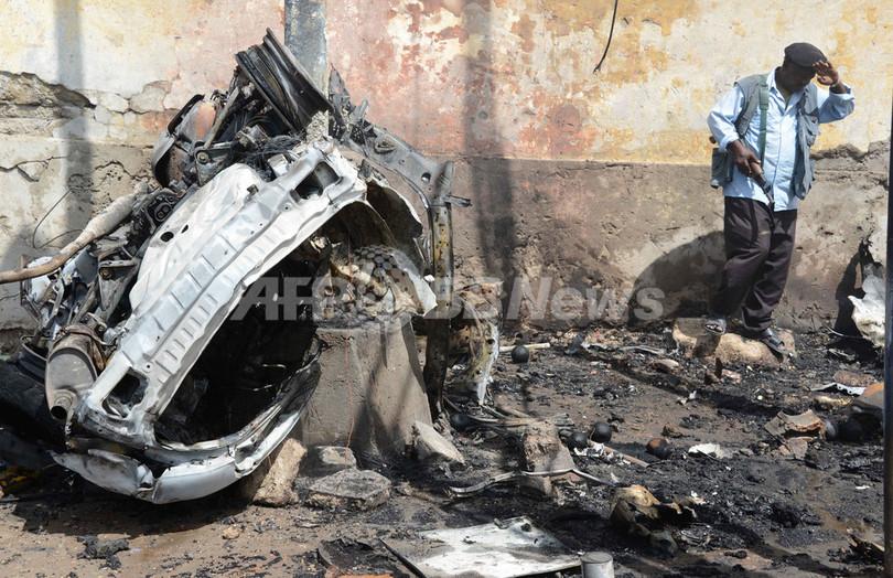 ソマリアでカタール代表団狙った自爆攻撃、11人死亡