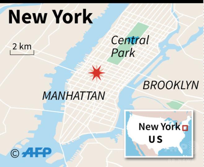 米ニューヨーク・マンハッタンで爆発、1人拘束との報道も