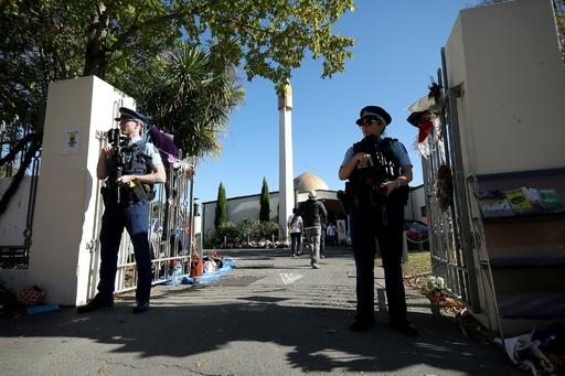 NZモスク銃乱射、生配信動画を拡散した男に禁錮刑判決